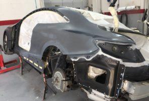 Sigillature e preparazione alla verniciatura Mercedes Classe S