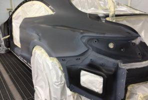 Preparazione/incartaggio pre-verniciatura Mercedes Classe S