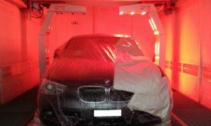 Essicazione infrarossi veicolo leggero