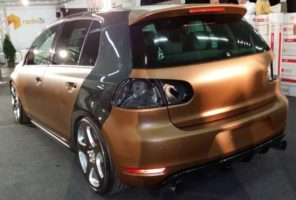 Car wrapping in esecuzione