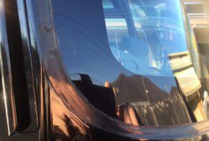Rottura vetro parabrezza mezzo pesante