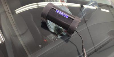 Essicatura resina per riparazione vetri con UV