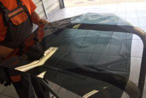 Oscuramento vetro laterale in tinta 50%