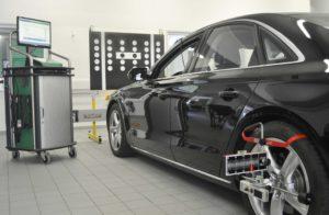 Calibrazione sistemi di assistenza conducente